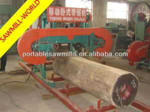China portable horizontal band sawmill for sale on sale
