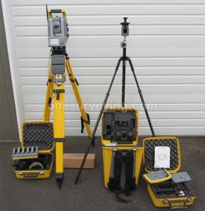 "China Trimble S6 5"" Robotic Total Station Kit on sale"