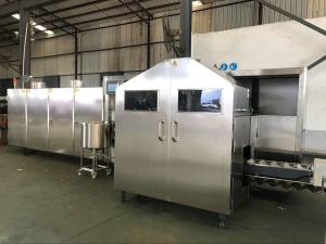 China Horizontal Ice Cream Cone Banane Ki Machine , Wafer Cone Production Line on sale