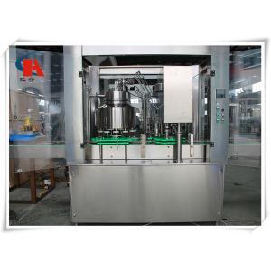 China Automatic Carbonated Beverage Filling Machine Adopting Equal Pressure Filling Principle on sale