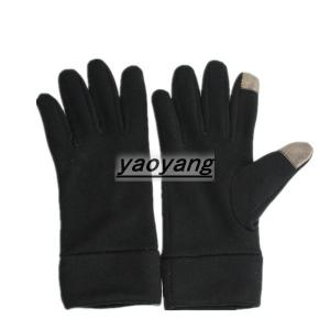 China Popular style among the world  polyester touch screen gloves TS002 on sale