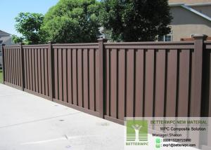 China Bettowood Composite Board Swimming Pool Garden Screen WPC Picket Fence on sale