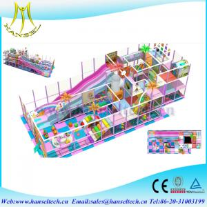 China Hansel baby play yard for indoor and outdoor amusement equipment on sale