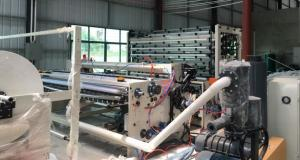 China High Speed Toilet Paper Production Line Toilet Roll Rewinding Machine 380V 50Hz on sale