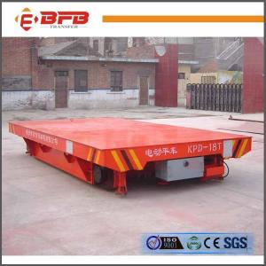 China Four Wheels Open Die Transfer Cart , Industrial Material Carts ISO / CE Certificate on sale