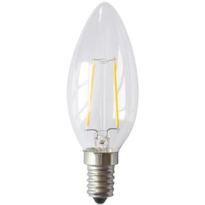 China 2014 New products E14 C35 2w edison filament led bulb with CE GS ERP RoHS supplier