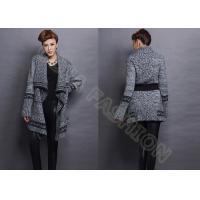 Wool Womens Chunky Sweaters Coat