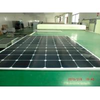 High Light Transmission Glass High Efficiency Solar Panels 220W All Weather Resistance