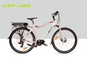 China 7 Speed 36V 350W Mid Drive Motor Electric Bike High Performance 700C MTB Tire on sale