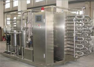 China 1000 LPH Milk Fruit Juice Pasteurization Machine SS 304 / SS 316 Material on sale