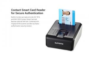 China Suprema BioMini Combo Fingerprint & Smart Card Reader on sale