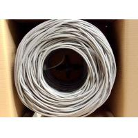 China UTP Cat.5e 0.5CCA/ BC 4Pairs 24AWG Network lan Cable 305M Pull Box on sale