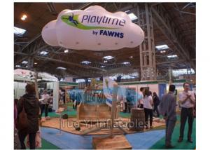 China Trade Show Inflatable Cloud Custom Shaped Balloons Damp Proof With Company Logo on sale