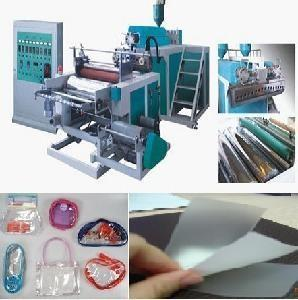 China Three Layer PE Stretch Film Making Machine With PLC Controlled on sale