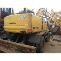Used KOMATSU PW120-6 Wheel Excavator