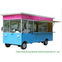 China Small Commercial Mobile Kitchen Truck For Hot Dog Wagon Burrito Cooking And Selling on sale