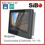 SIBO 7 Inch Tablet Q896 With Glass Wall Mount Bracket LED Light For Meeting Room Ordering