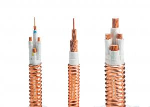 China 2 Core Fire Resistant Cable Mineral Insulated Bare Copper Class 2 Conductor on sale