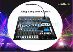 China Console KingKong 1024 DMX Lighting Controller DMX512 Console For DJ Disco on sale