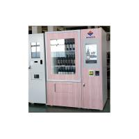 China 24 Hours Touch Screen Wine Vending Machine Self Service For Restaurant / Stadiums on sale