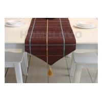 Elegant Brown Color Restaurant Table Cloth dining room table cloths