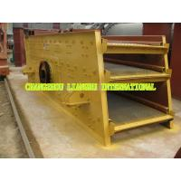 High Durability Vibrating Sieve Screen , Sand Vibrating High Frequency Screen