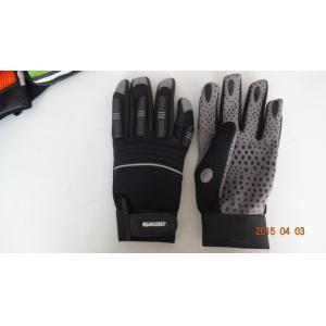 China gant de point de PVC, gant résistant, gant fonctionnant, gant de main, gant safty, gant de mécanicien on sale