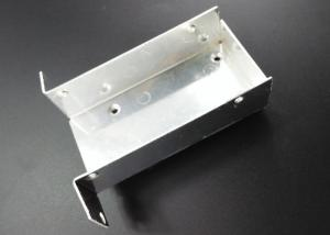China 85 X 45 X 25 mm Silver Electrical Socket Box AL6063 Oxidation Stamping Aluminum Parts on sale