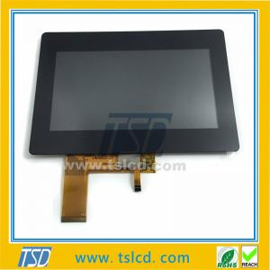 China TSD TFT LCD 7 inch 800x480 display lcd module with RGB interface & Capcitive touch panel on sale