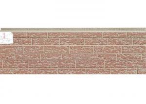 China Custom Size PU Sandwich Wall Panel Board Metal Cladding Soundproof Performance on sale