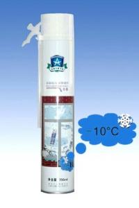 China High Density  Winter Type Polyurethane Foam Spray Can with Straw / Gun Nozzle on sale