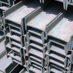 Black Hot Rolled Steel H Beam High Surface Hardness Costomized