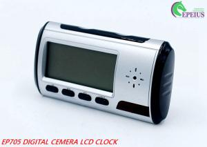 China Long Time Recording Alarm Clock Hidden Camera Wifi, 1080P Spy Clock Ip Camera on sale