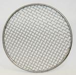 Rimmed 316 Stainless Steel Wire Mesh Filter Disc Silver Color 2-635 Mesh Count
