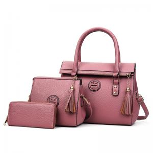 China Women Handbag set PU Leather Shoulder Bag Messenger Lady Cute Satchel Wings bags on sale