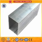 China Customized Size Aluminium Industrial Extrusion Tube Profile 6m Length wholesale