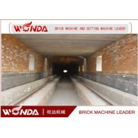Red Clay Brick Tunnel Kiln , Automation Tunnel Kiln For Brick Firing Process