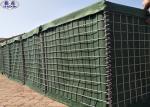 3 X 3 Hesco Bastion Wall , Security Bastion Hesco Barriers Blast Wall