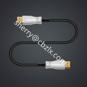 China 30m 4k x 2k 60hz 18gbps hdmi optical cable aoc HDMI30M HDMI CABLE on sale
