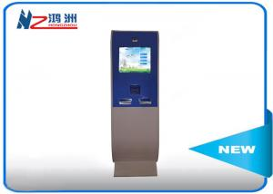 China Free Standing LCD Information Kiosk Self Service Aluminum Frame + Sheet Metal on sale