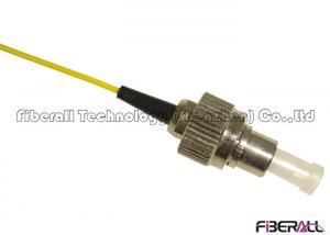 China FC PC Polishing Connector Single Mode Fiber Pigtails , FC Pigtail Single Core on sale