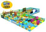 Anti UV Soft Play Area Games Equipment , Durable Kids Indoor Play Equipment