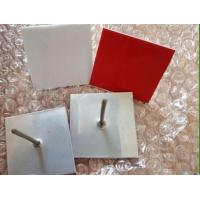 Self-stick adhesive insulation pins with galvanized steel material