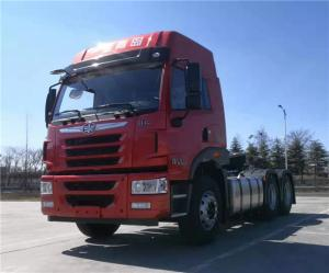 China FAW J5M 6x4 Heavy Duty Tractor Truck For 400 HP LHD RHD Prime Mover Tractor Head on sale