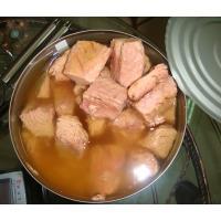 Canned Yellowfin Tuna Chunks In Brine / Tuna Fish Can Custom Private Label