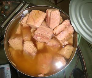 China Canned Yellowfin Tuna Chunks In Brine / Tuna Fish Can Custom Private Label on sale