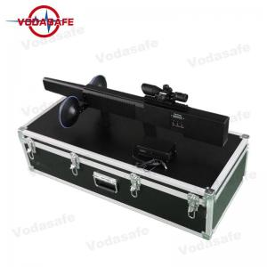 China Tri - Band Mobile Phone Signal Blocker2.4G 5.8G GPSL1 Work For UAV Drone Signals on sale