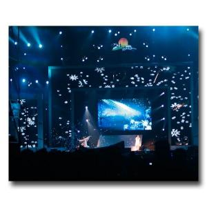 China Light Weight P12.5 Indoor Led Mesh Screen For The Concert , Bar on sale