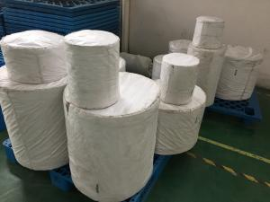China PET filament 5mm THK Canvas Water slide / Canvas Cement Polyester (Air slide) / Canvas Dust Fabric, air filter. on sale