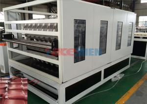 China PVC Color Roof Tile Making Machine / Roof Tile Production Line 350 - 650 Kg / H on sale